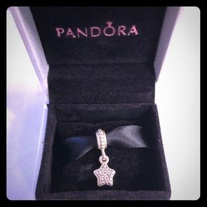 Pandora Jewelry - Pandora Pave shaped star charm. Sterling silver